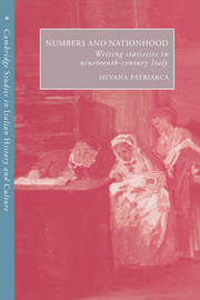Cambridge Studies in Italian History and Culture by Silvana Patriarca