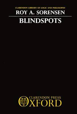 Blindspots by Roy A Sorensen image