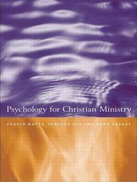 Psychology for Christian Ministry by Rebecca Nye image