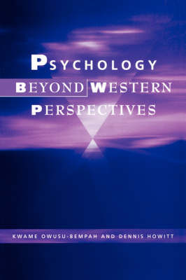 Psychology Beyond Western Perspectives by Kwame Owusu-Bempah image
