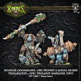 Hordes: Trollblood - Hoarluk Doomshaper Dire Prophet Epic Trollkin Warlock