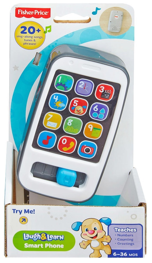Fisher-Price: Laugh & Learn Smart Phone - Grey image