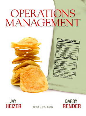 Operations Management by Jay Heizer image