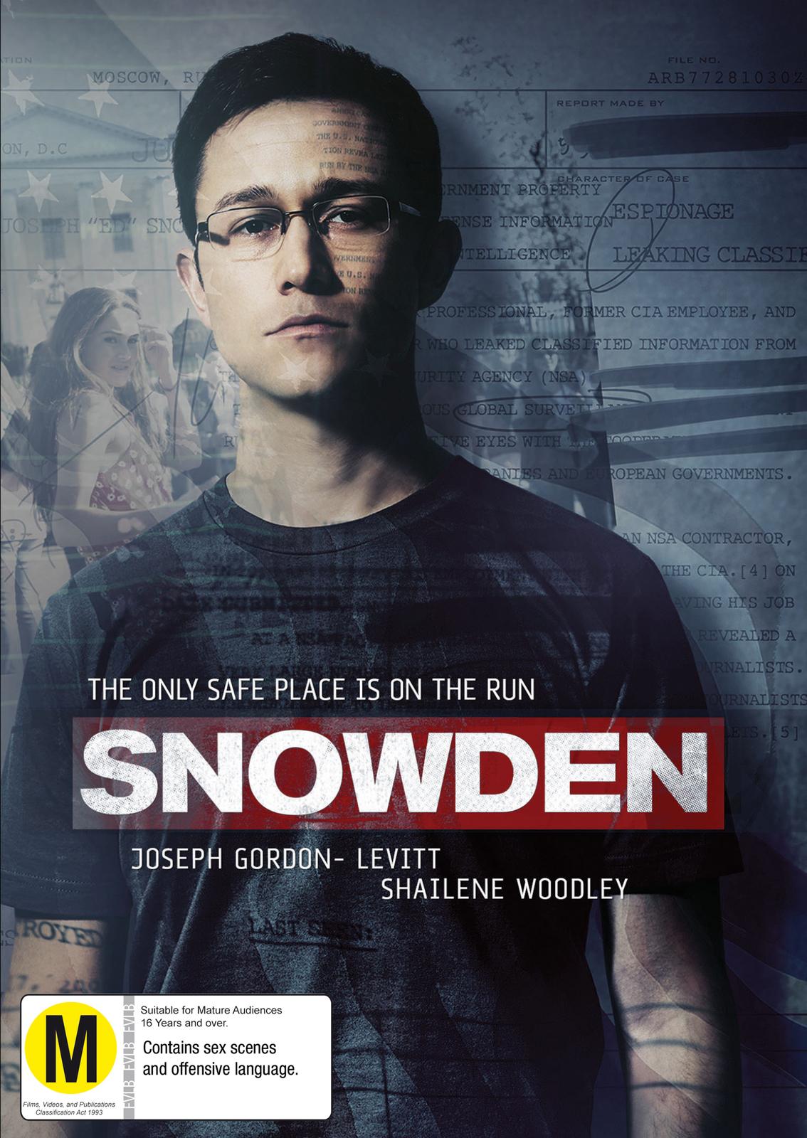 Snowden on DVD image