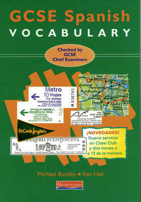 GCSE Spanish Vocabulary by Michael Buckby image