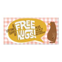 Bellaberry Free Hugs Milk Chocolate (100g)