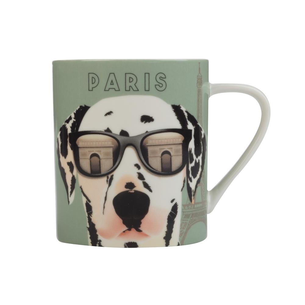 Christopher Vine The Mob International Cities Mug - Paris (370ml) image