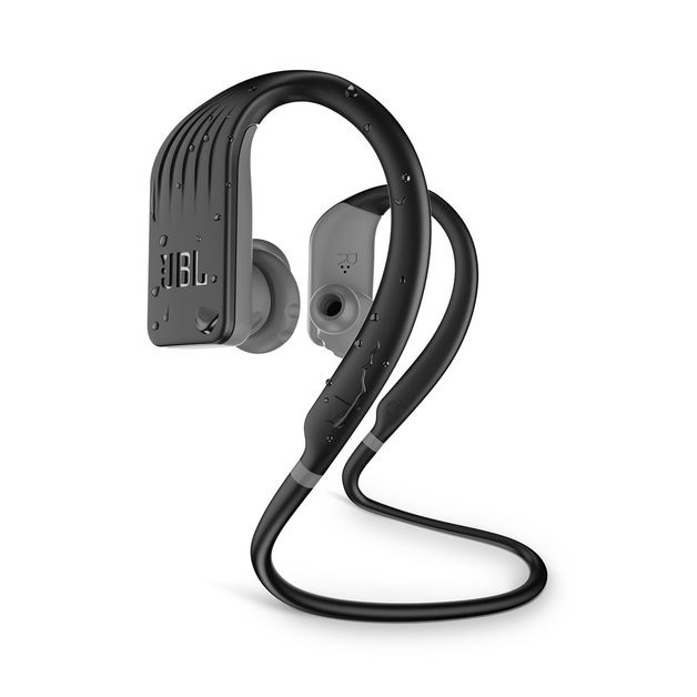 JBL Endurance Jump Bluetooth Headphones - Black