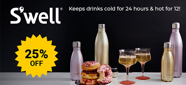 25% off S'well Insulated Bottles!