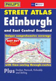 Philip's Street Atlas Edinburgh and East Central Scotland image