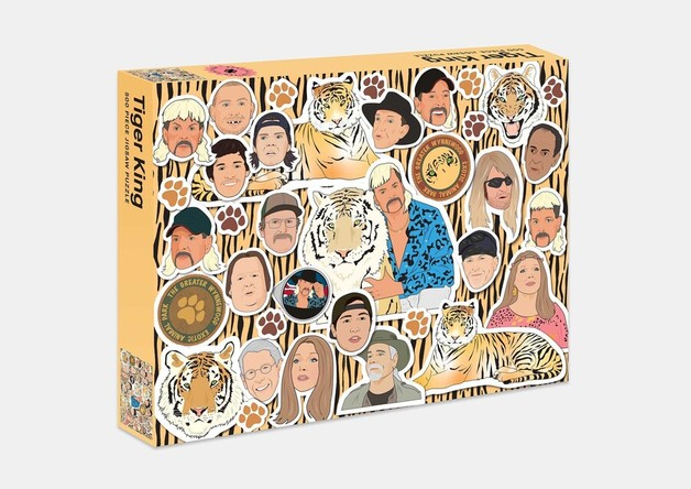 Tiger King: 500 Piece Jigsaw Puzzle
