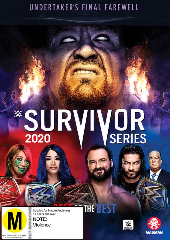 WWE: Survivor Series 2020 on DVD