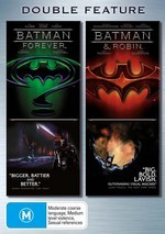 Batman Forever / Batman And Robin - Double Feature (2 Disc Set) on DVD