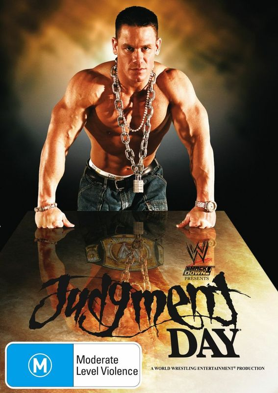 WWE - Judgment Day 2005 on DVD