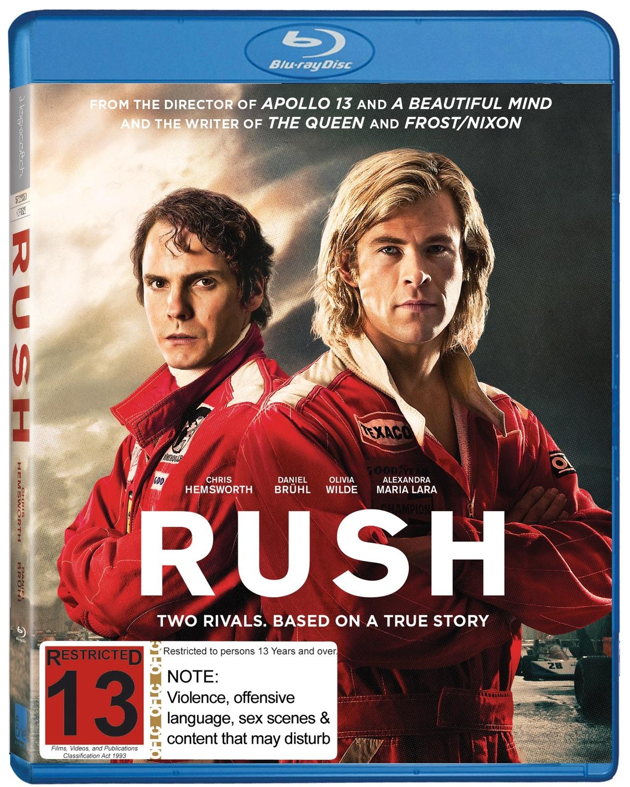 Rush on Blu-ray image