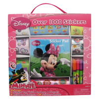 Disney Minnie Mouse Sticker Box With Handle