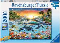 Ravensburger -Orca Paradise Puzzle (200pc)