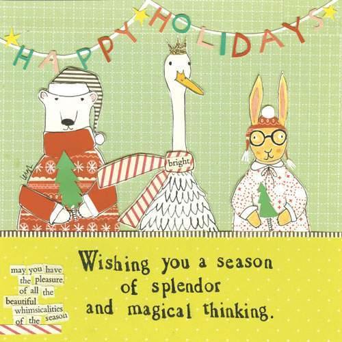 Curly Girl Design: Season of Splendour - Greeting Card