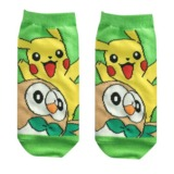 Pokemon: Pikachu & Rowlet - Ladies Socks