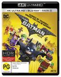 The Lego Batman Movie on Blu-ray, UHD Blu-ray, UV