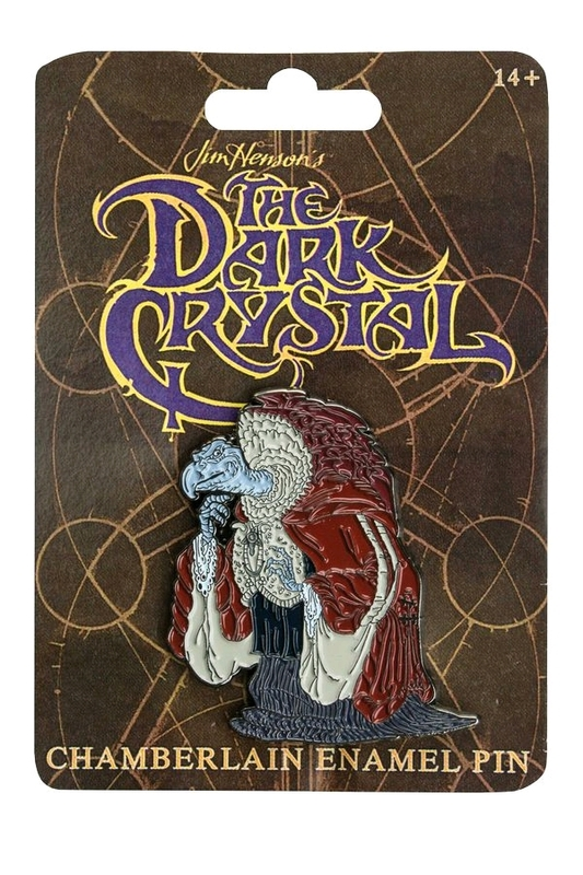 Dark Crystal - Chamberlain Enamel Pin