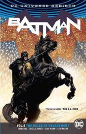Batman Volume 5 Rules of Engagement. Rebirth by Tom King