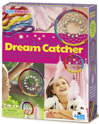 4M KidzMaker: Make Your Own Dream Catcher - Craft Kit