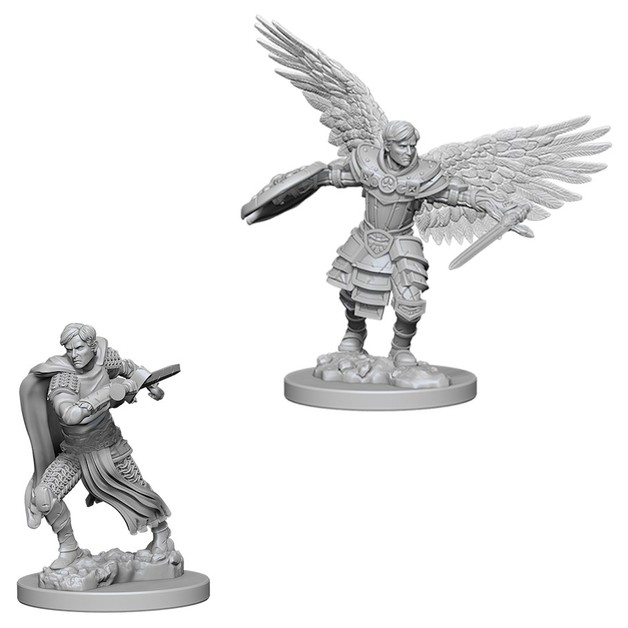 D&D Nolzurs Marvelous: Unpainted Miniatures - Male Aasimar Fighter
