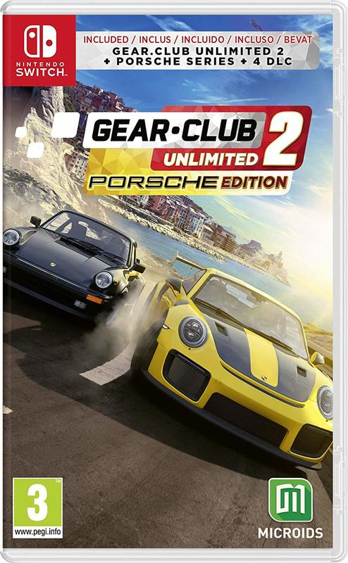 Gear Club Unlimited 2 Porsche Edition for Switch
