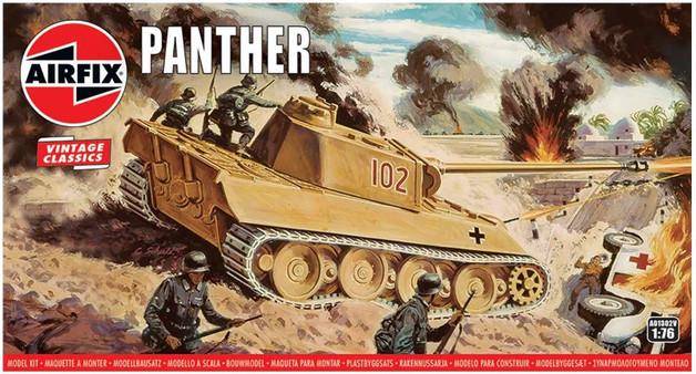Airfix Panther Tank 1:76 Model Kit
