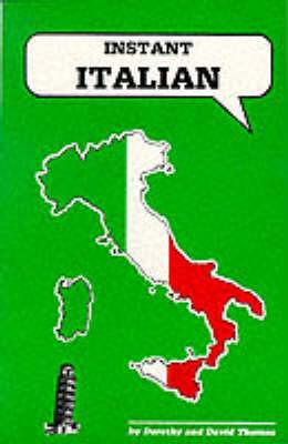 Instant Italian by Dorothy Thomas image