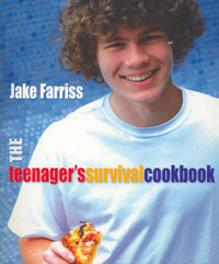 The Teenager's Survival Cookbook by Jake Farriss image