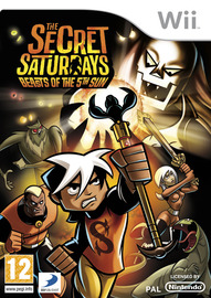 The Secret Saturdays: Beasts of the 5th Sun for Nintendo Wii image