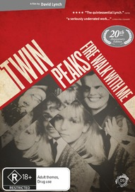 Twin Peaks: Fire Walk with Me on DVD