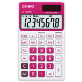 Casio Handheld Calculator - Red
