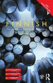 Colloquial Finnish by Daniel Abondolo image