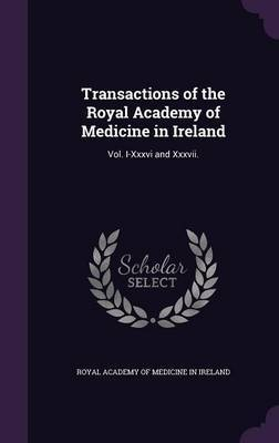Transactions of the Royal Academy of Medicine in Ireland image
