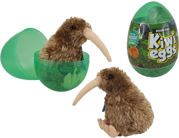69c023ed72 Brown Kiwi - Plush With Sound
