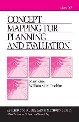 Concept Mapping for Planning and Evaluation by Mary Kane image