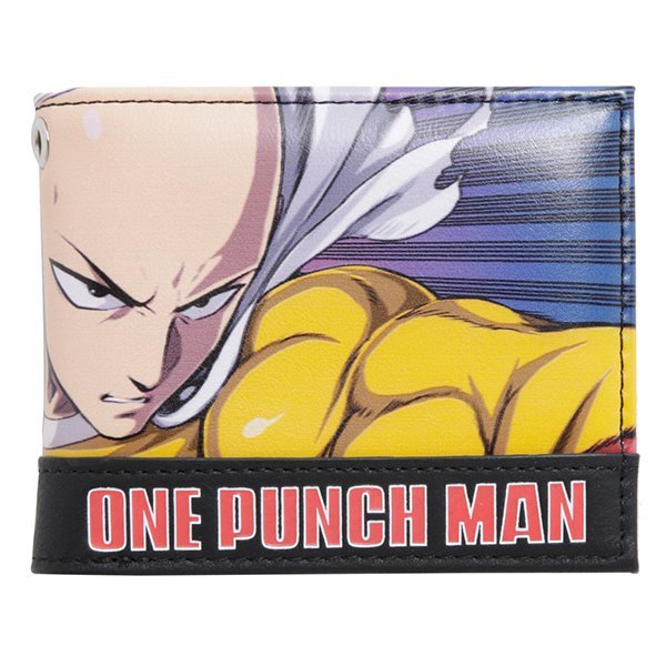 One Punch Man - Character Bi-Fold Wallet