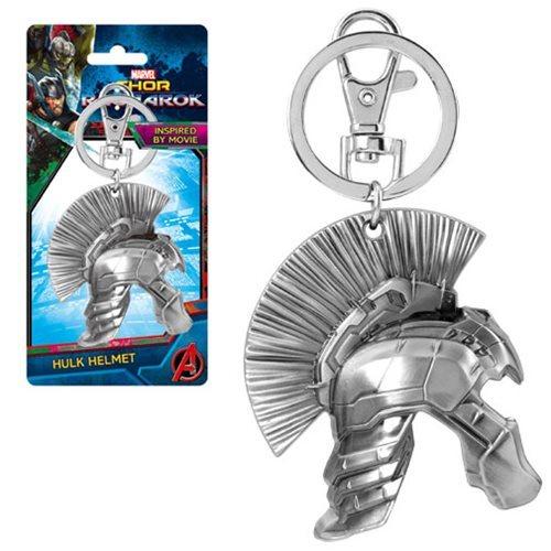 Thor: Ragnarok Hulk Half Helmet Pewter Key Chain