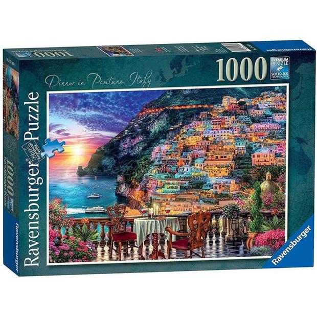 Ravensburger: 1,000 Piece Puzzle - Dinner in Positano, Italy
