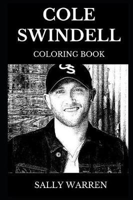 Cole Swindell Coloring Book by Sally Warren image