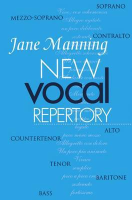 New Vocal Repertory by Jane Manning image