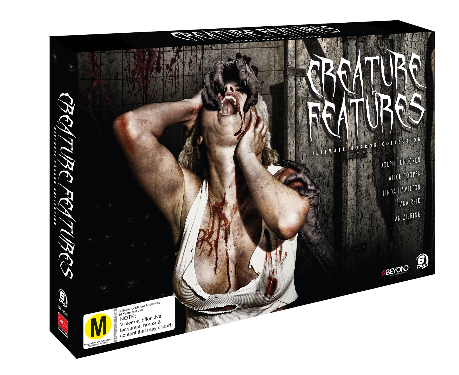 Fully Loaded: Creature Features Collection on DVD image