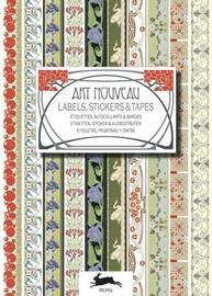 Pepin Press: Label & Sticker Book - Art Nouveau by Pepin Van Roojen