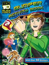 Ben 10 Alien Force Bumper Activity Book image