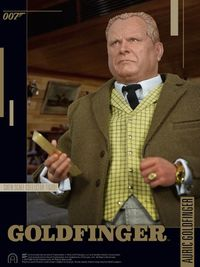 "James Bond: Goldfinger - Auric Goldfinger 12"" Articulated Figure"