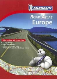 Michelin Road Atlas Europe by Michelin