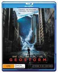 Geostorm on Blu-ray